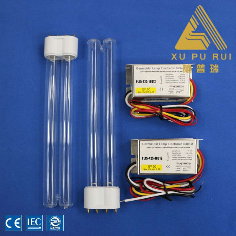 10w212mm H Type High Ozone Uv Germicidal Lamp Uvc Lamp For Air Purifcation Ozone Lamp Led
