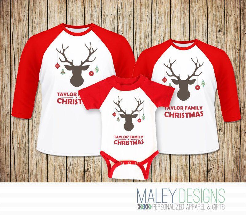 Matching family christmas shirts christmas family pajamas for Funny matching family christmas pajamas