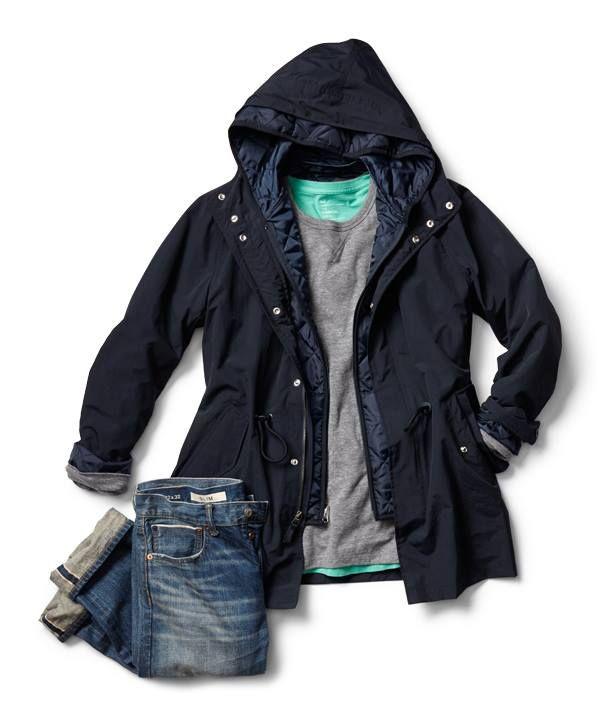 en's City parka jacket http://gap.us/1alvarI   Men's Lived-in crew pullover http://gap.us/L82dGX   Men's 1969 slim fit jeans (Japanese selvedge) http://gap.us/1dnZKlH