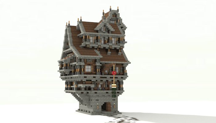Medieval House Creation 6901 Minecraft マインクラフト