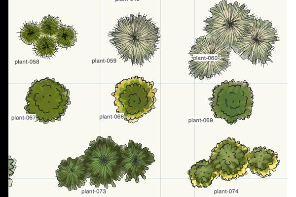 vectorworks plants 3 zoom5 plany prezentacje rysunki