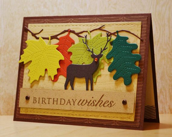 Masculine birthday card deer birthday husband by paperdipity gifts masculine birthday card deer birthday husband by paperdipity bookmarktalkfo Image collections