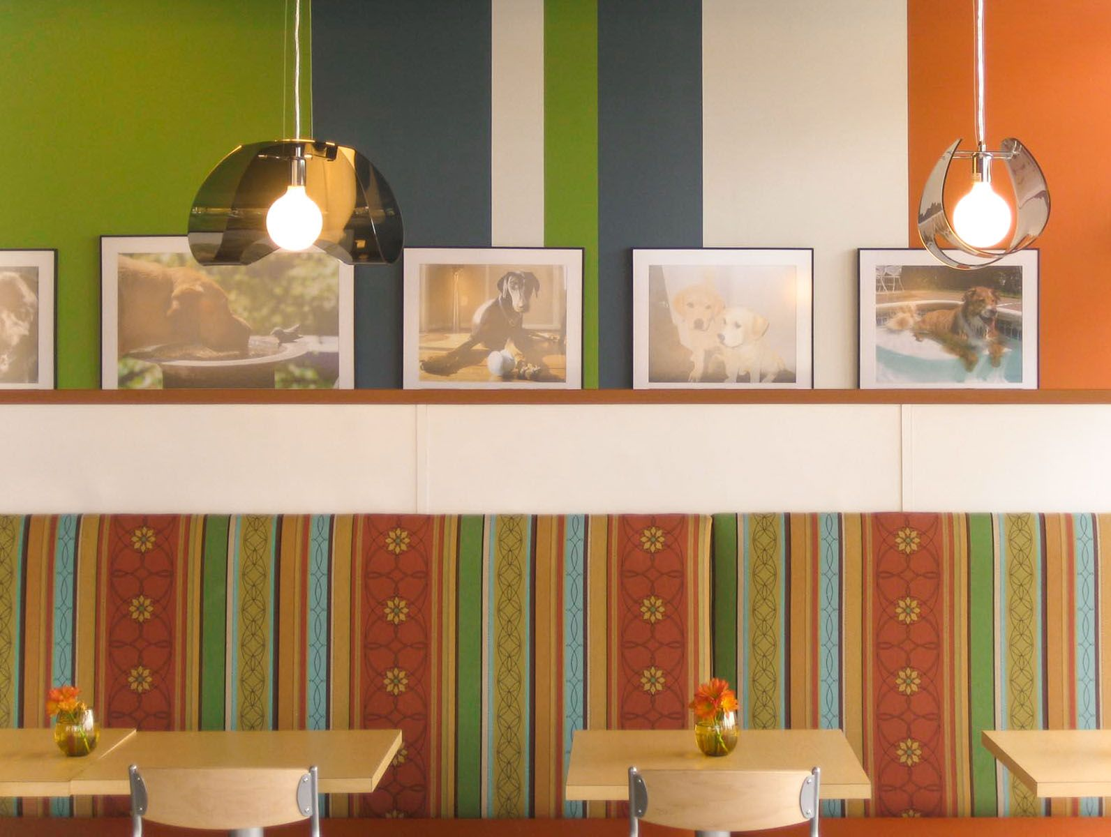 PureBread Deli - Pattern and Color Play. Design by Mitchell Associates.