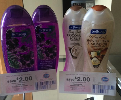 FREE Softsoap Body Wash at Kroger after Mega Event Sale, Coupon and Catalina! - http://www.couponaholic.net/2014/05/free-softsoap-body-wash-at-kroger-after-mega-event-sale-coupon-and-catalina/
