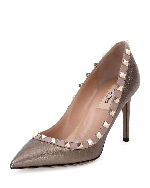 Leather pumps, Valentino garavani shoes