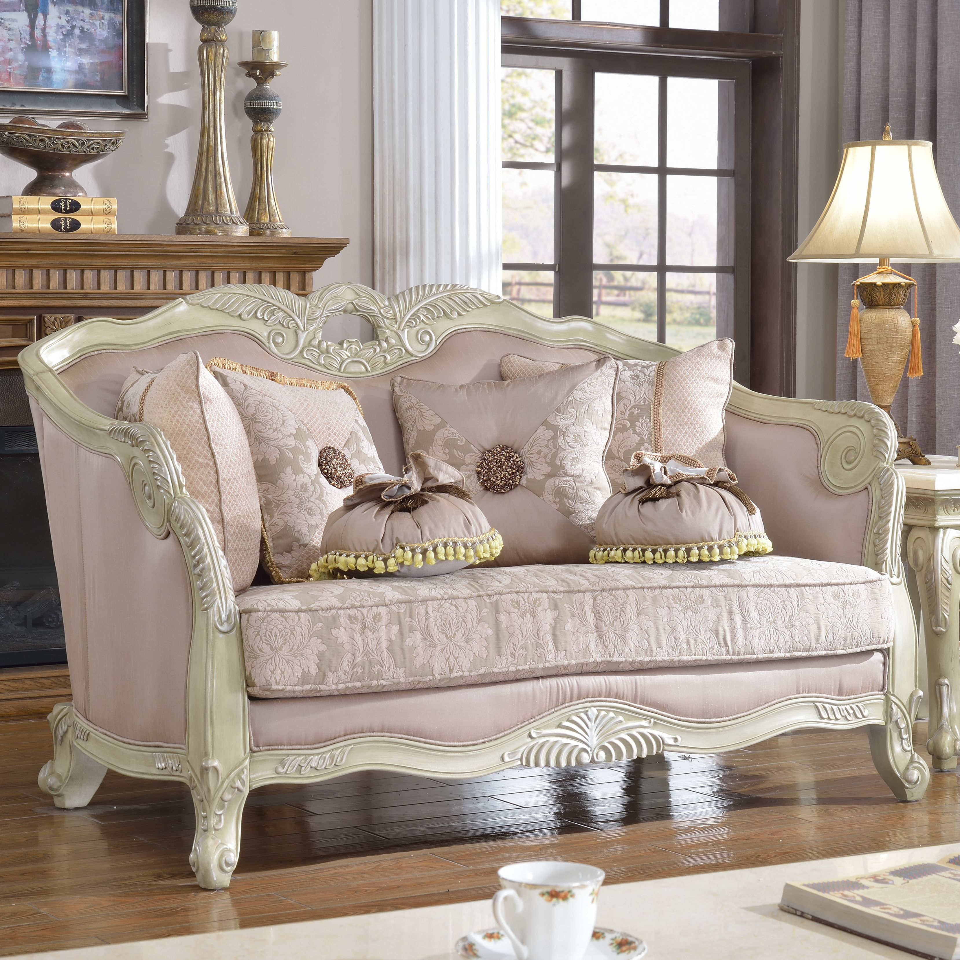 Meridian Furniture USA Positano Loveseat