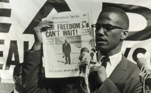 004 Malcolm X. Our Dream Cannot Wait Any Longer. Malcolm x
