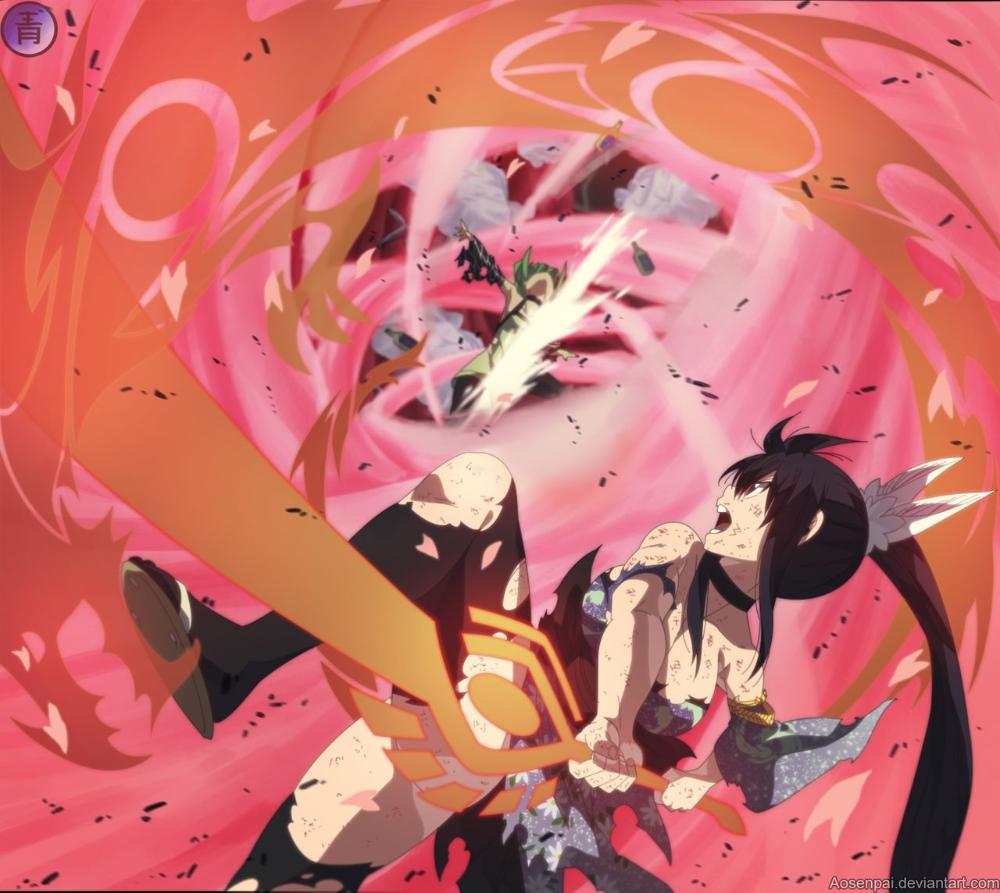 Homura Kougetsu Vs Kleene Edens Zero Capítulo 92 Manga Edens Zero Anime Valkyrie