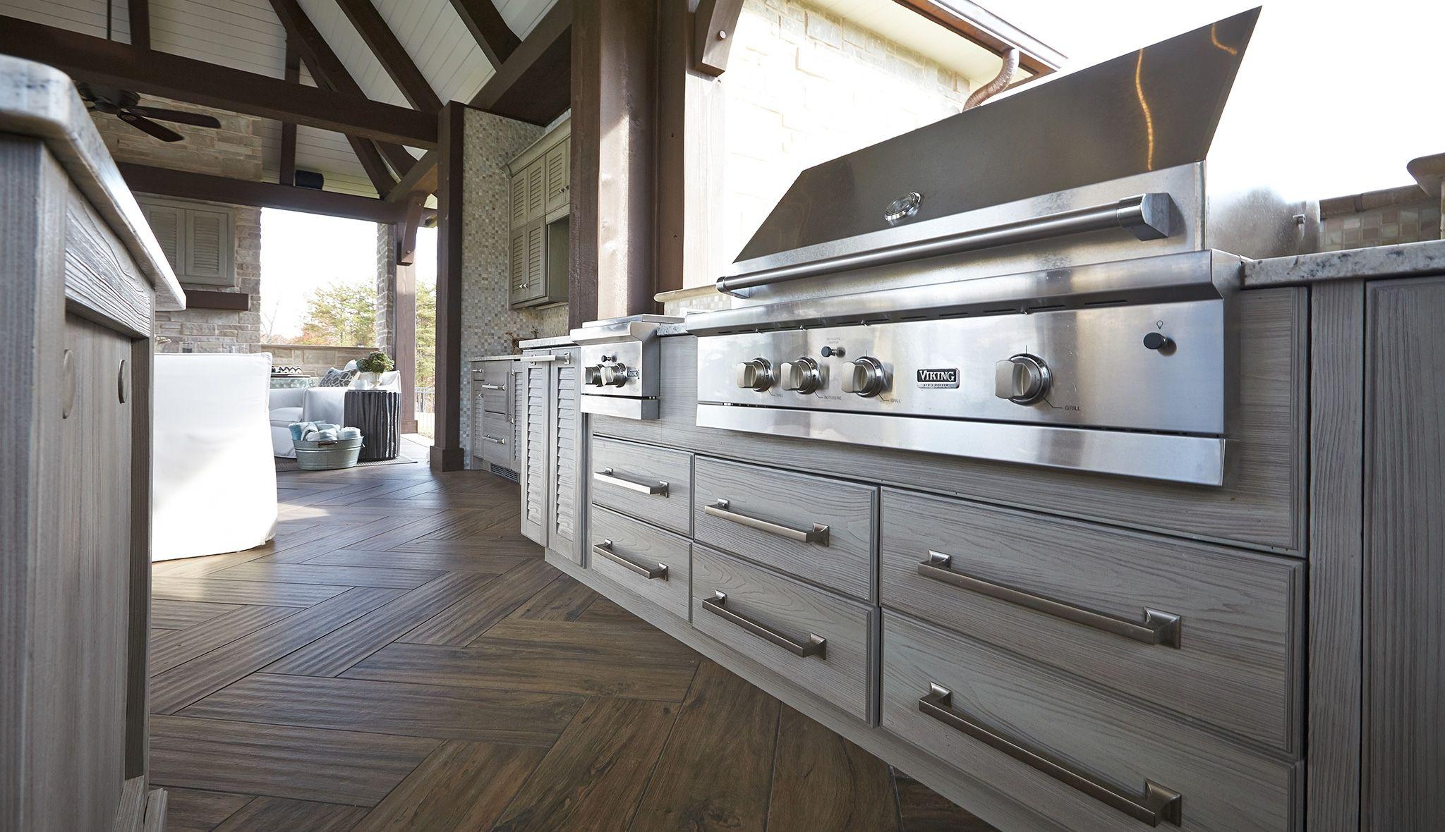 Marine Grade Polymer Outdoor Kitchen Cabinets