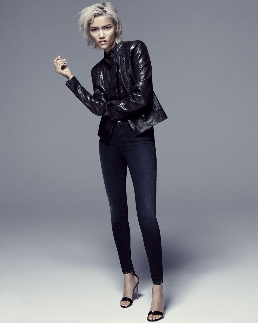 Introducing Charlotte Carey for #TheStockingJean. Shot by Daniel Jackson.