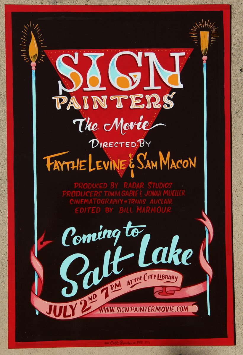 The sign painters movie sho card colt bowden typography the sign painters movie sho card colt bowden malvernweather Gallery