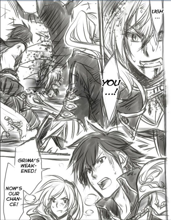 Fire Emblem: Awakening (Manga Fan Art) 16815a89fac7c6bed9f8b23b886cd506