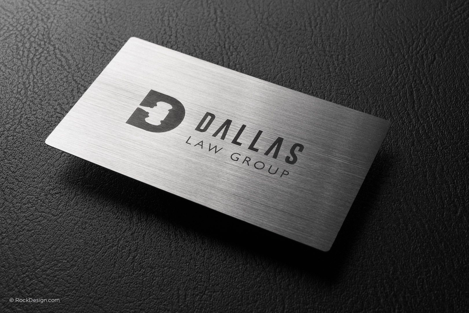 NEW - Laser Spot Color Metal Business Card - Quick Turnaround time ...