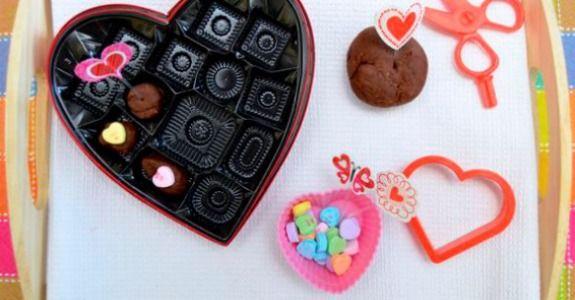 Chocolate scented playdough