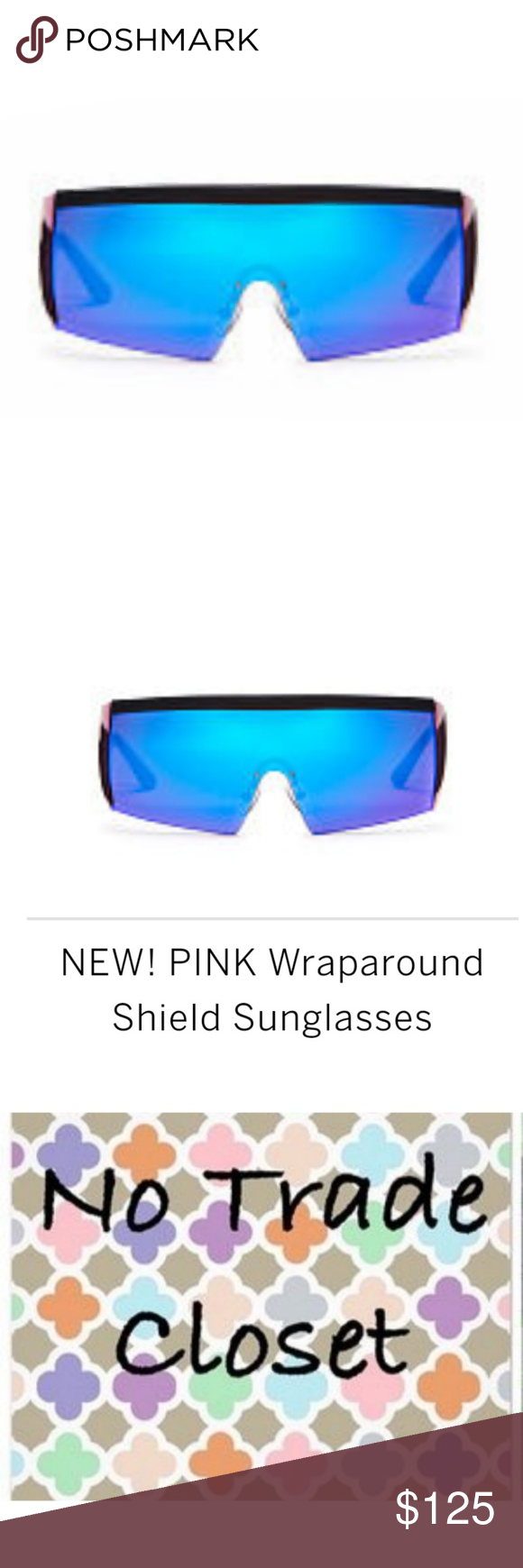 08415fcd5daab Victoria Secret Pink Shield Sunglasses New In Package VS Pink Shield ...