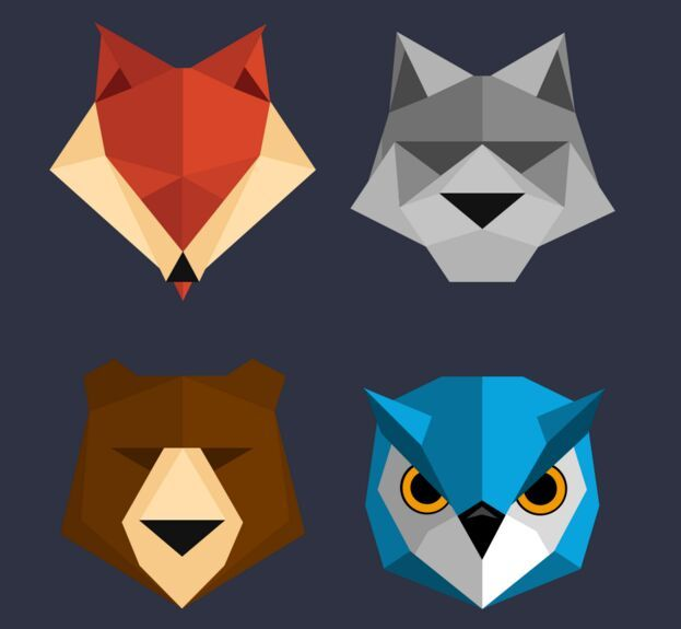 Download Free Polygon Animal Icons PSD under the free Vector Animal, Vector Icons category(ies) at TitanUI.CoM!