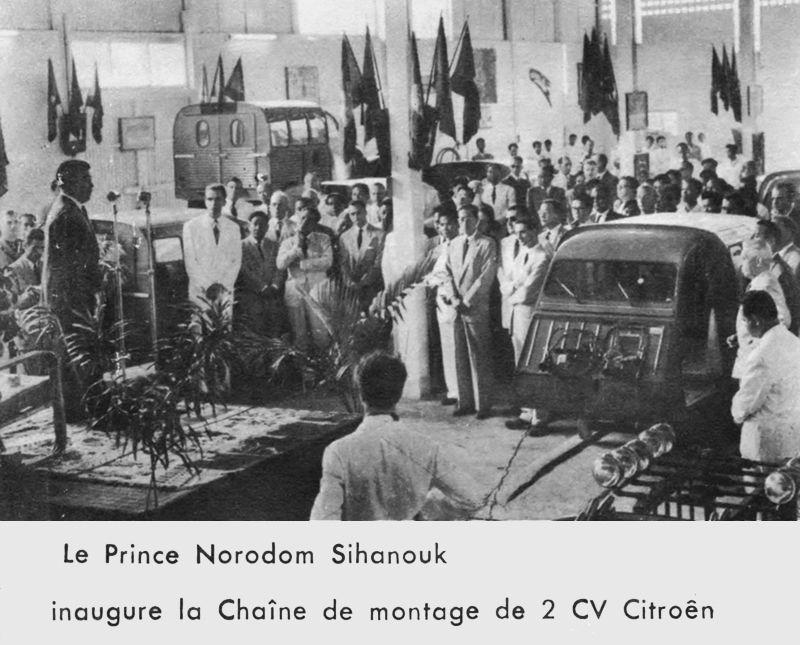 Citroen DS in Cambodia