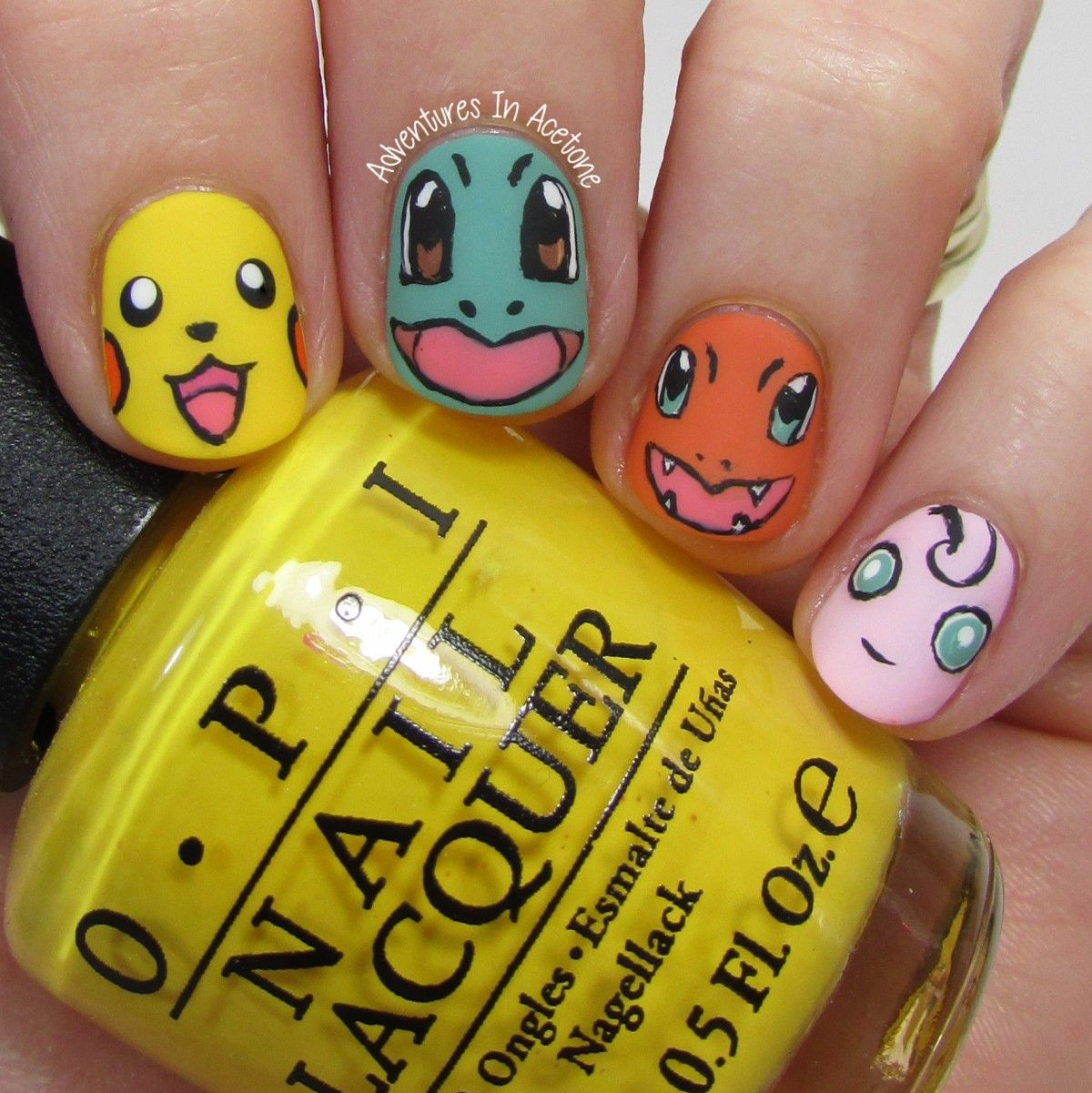 Pokemon Nail Art 2 - Pokemon Nail Art 2 Nail Ideas Nail Art, Nails, Nail Art Designs