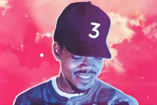 Chance The Rapper Coloring Book Poster 24x36 Coloring Book Album Mixtape Cover Chance The Rapper