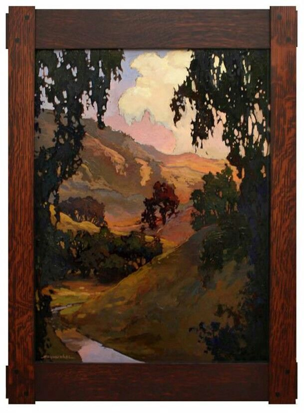 Arts And Crafts Tonalist Painting