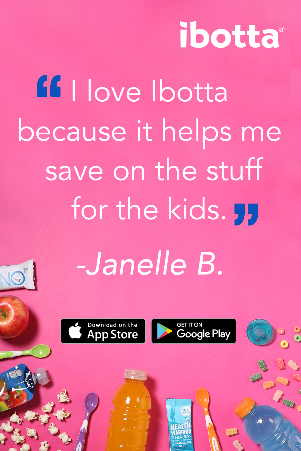 Start your shopping with the Ibotta app and earn cash back