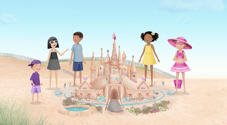 Pinkalicious Peter And Their Friends Don T Need To Sketch Or Draw The Blueprints For Their Sand Castles When They Hav Pbs Kids Visual Art Lessons Pinkalicious