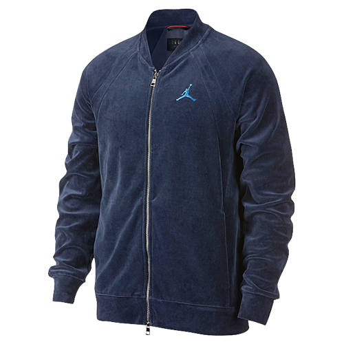 f26ac54ab Jordan JSW Velour Jacket - Men's | Jordan hoodies in 2019 | Velour ...