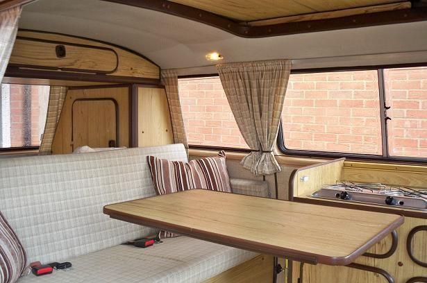 vw t25 reimo camper van 1987 interior boho life camping anh nger camping und oldtimer. Black Bedroom Furniture Sets. Home Design Ideas