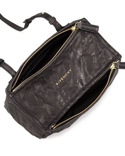3a5d27c4a2 Givenchy Pandora Mini in black w gold hardware