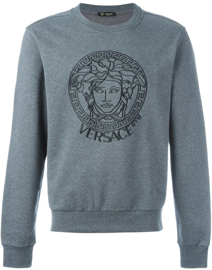 9bd9f847c9a1 Versace Gym  sweatshirt   men s clothing and accessories   Pinterest