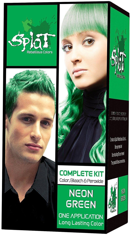 Splat Kit Neon Green Vert 3 Ounce With Splat Oxide Mixing