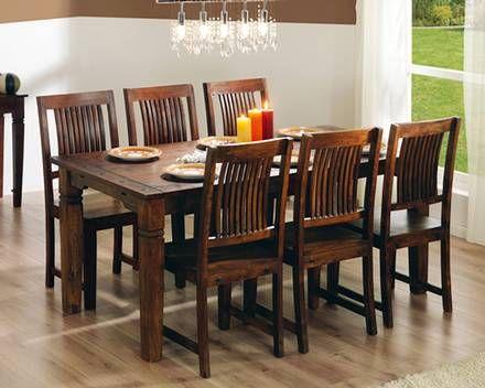 Set «Cuba» (mesa grande + 6 sillas)