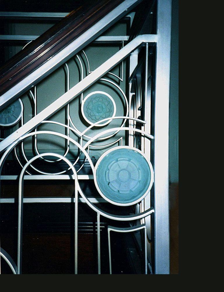 Best Great Lakes Metal Works And Art Studio Stair Railing 400 x 300
