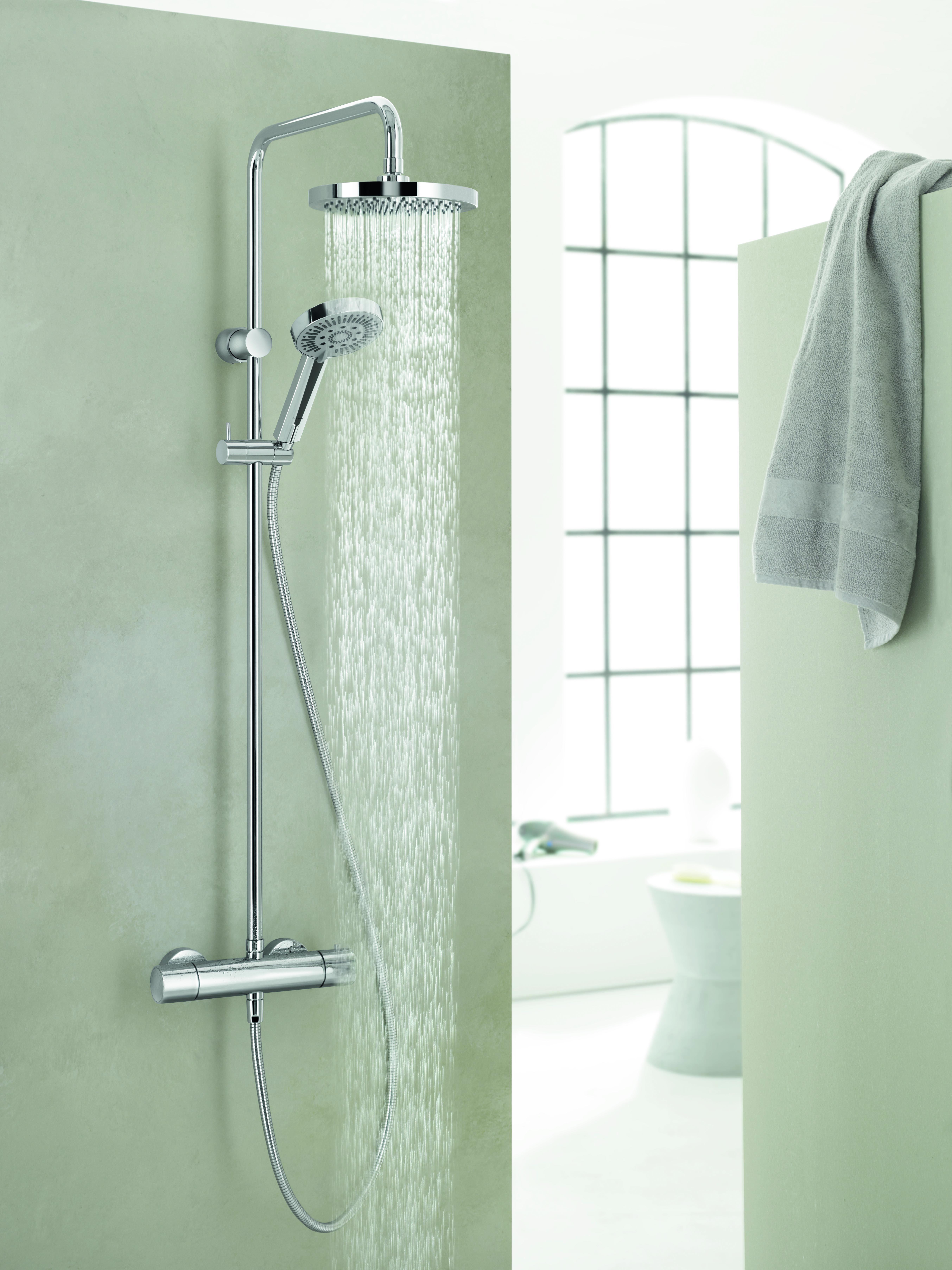Kludi Thermostat Dual Shower System Dual Verwijst Naar De