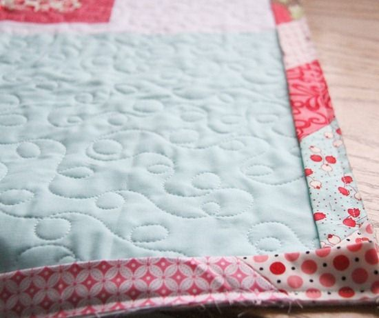 A Scrappy Binding For Quilts Sewing Pinterest Scrap Quilt