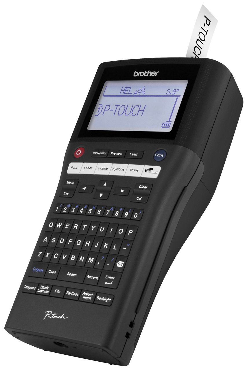 Brother PT-H500LI P-touch Label Maker - Rechargeable | Label