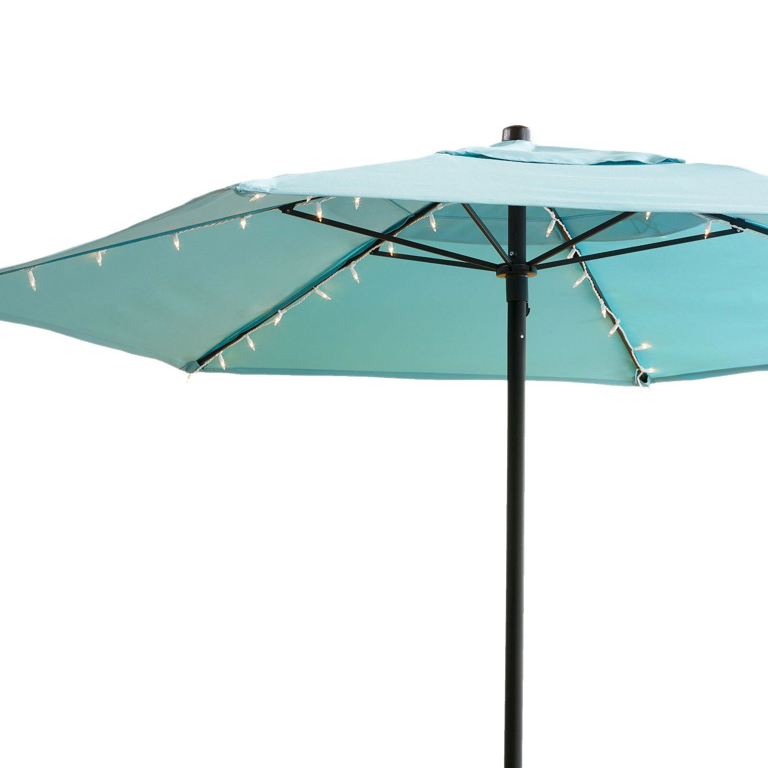 diy target lighting light full mini umbrella for christmas at table rectangular patio icamblog inside led umbrellas lights solar furniture size bar string