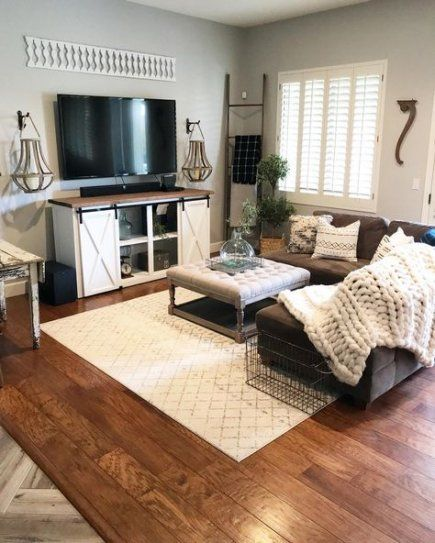 Photo of 34+  Ideas Living Room Dark Brown Couch