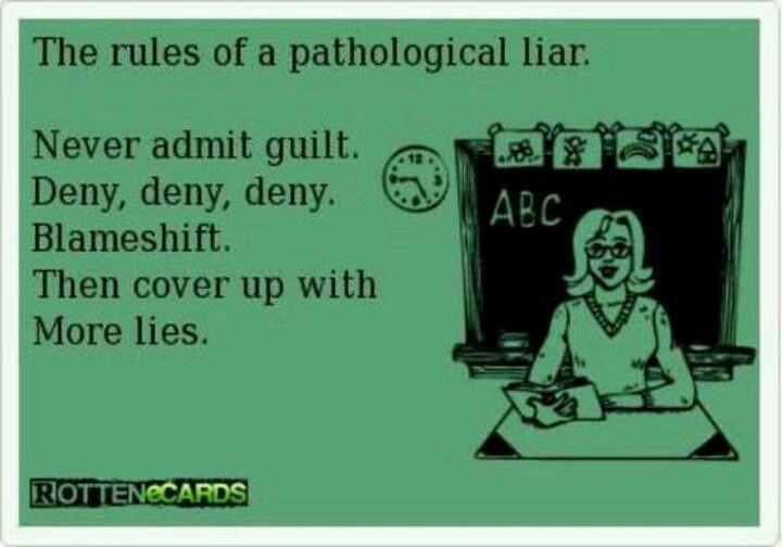 Pathological Liar Symptoms