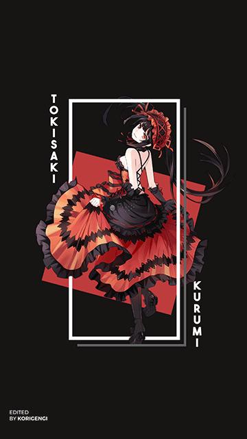 2020的Kurumi Tokisaki Date A Live Wallpaper