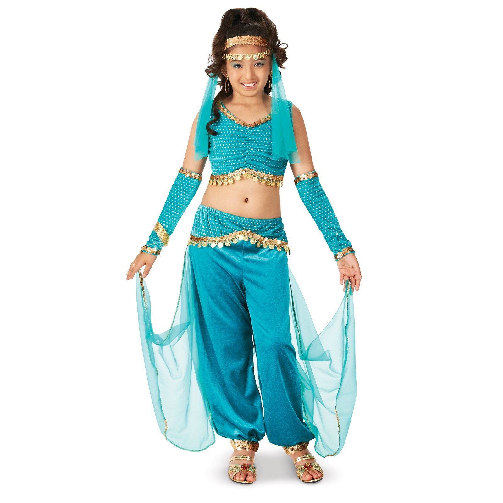 Genie child costume children costumes costumes and for Cute halloween costumes for 12 year olds
