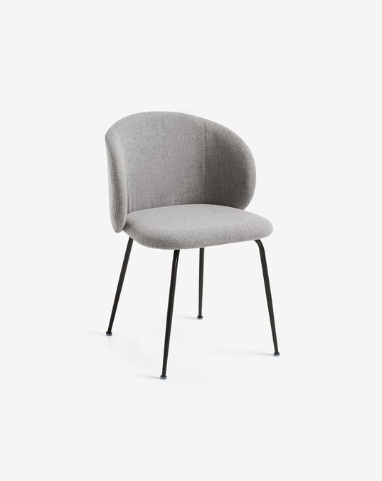 Light Grey Minna Chair Kave Home Kave Home Dining Chair Design Chair