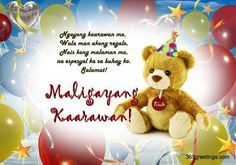Happy birthday in tagalog gabby graywolf pinterest tagalog so you want to greet someone a happy birthday in tagalog keep it heartwarming and inspirational with these happy birthday greetings in tagalog language m4hsunfo