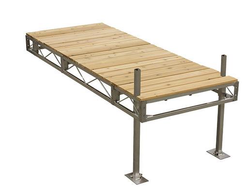4 X 50 Aluminum Stationary Dock Material List Modular Homes Island Design Building Materials