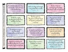 Bibleverses Scripture Memory Scripture Printables Bible Verse Cards