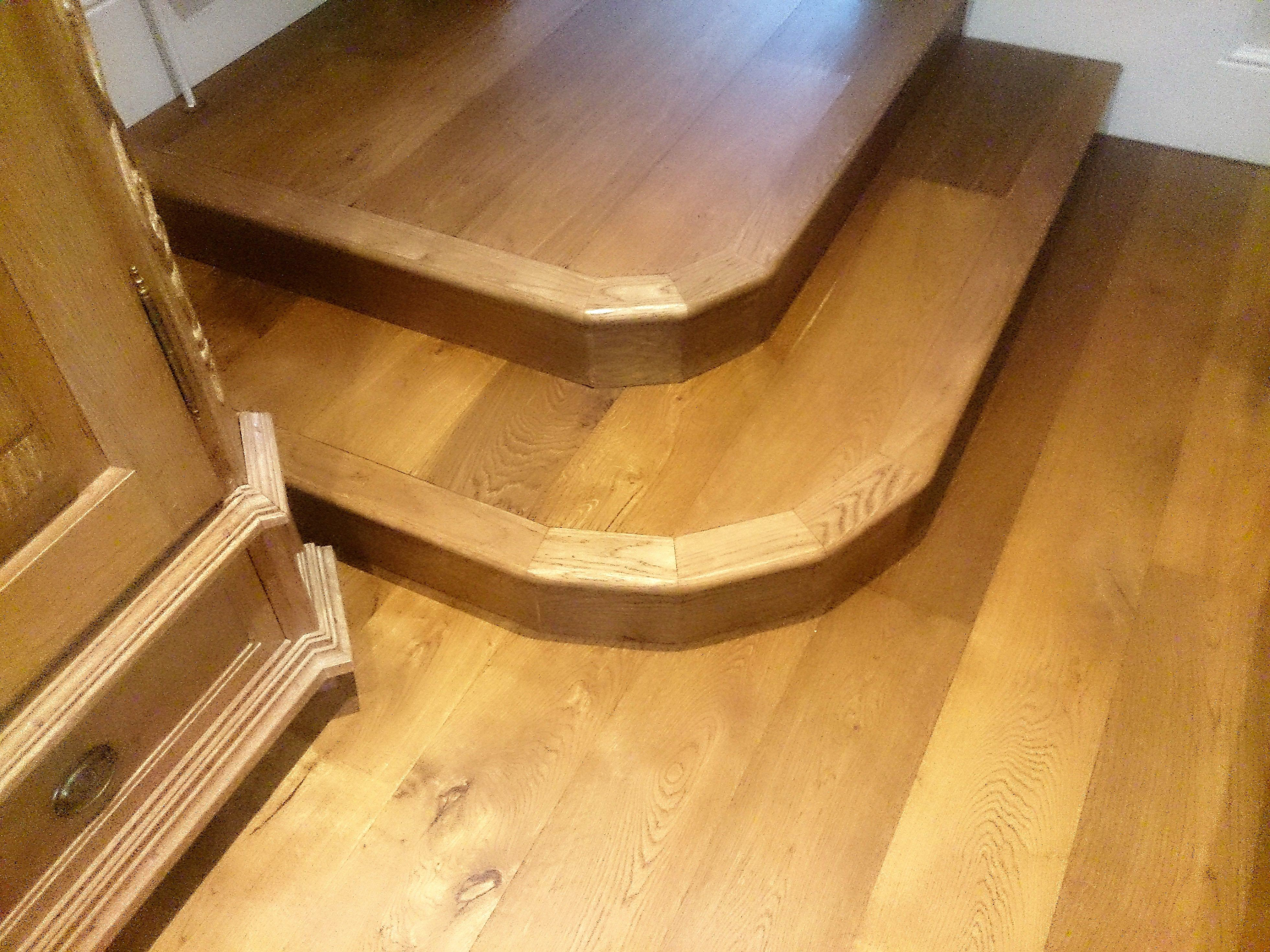 Engineered Oak Steps