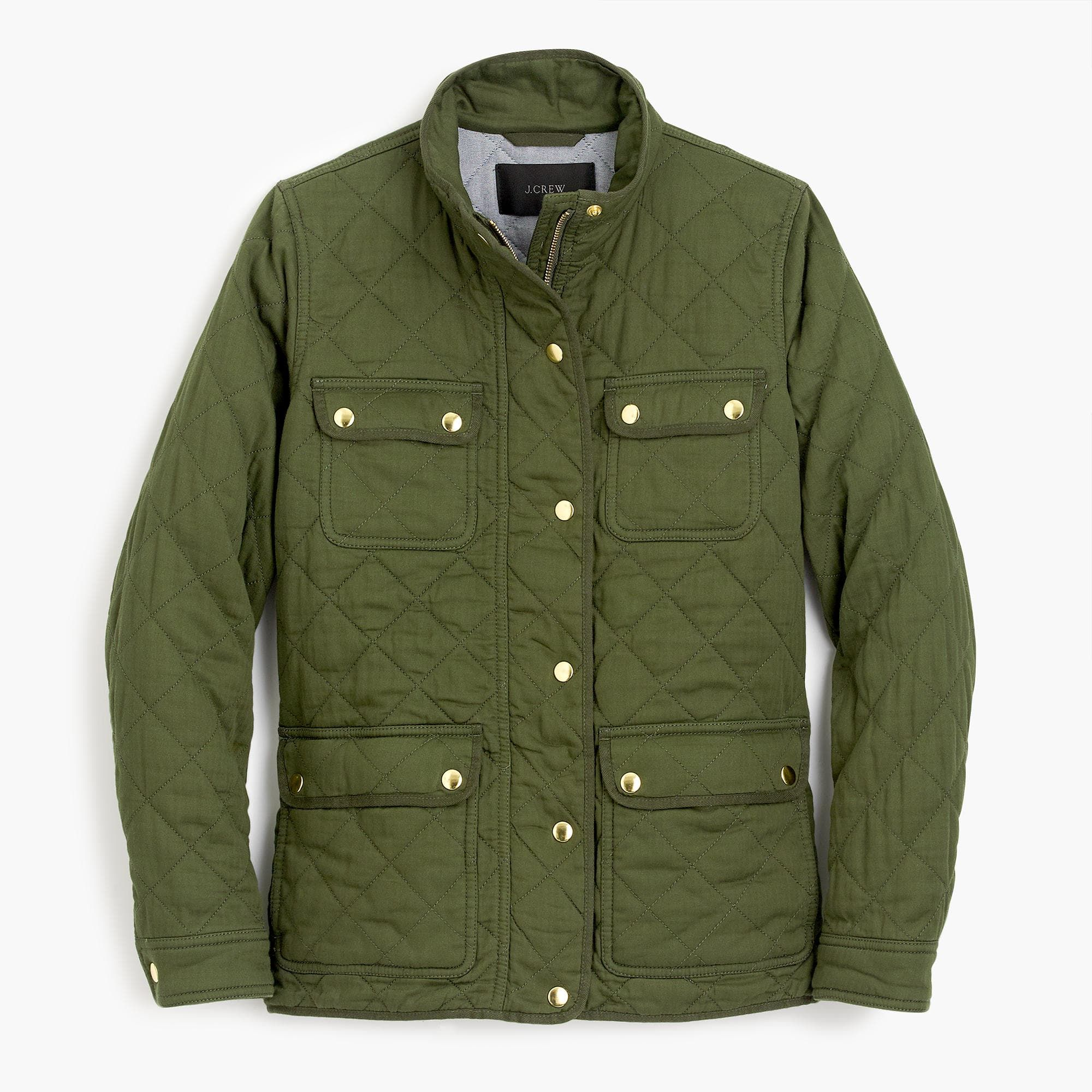 Quilted Downtown Field Jacket Women Outerwear Jacket Outerwear Women Field Jacket [ 2000 x 2000 Pixel ]