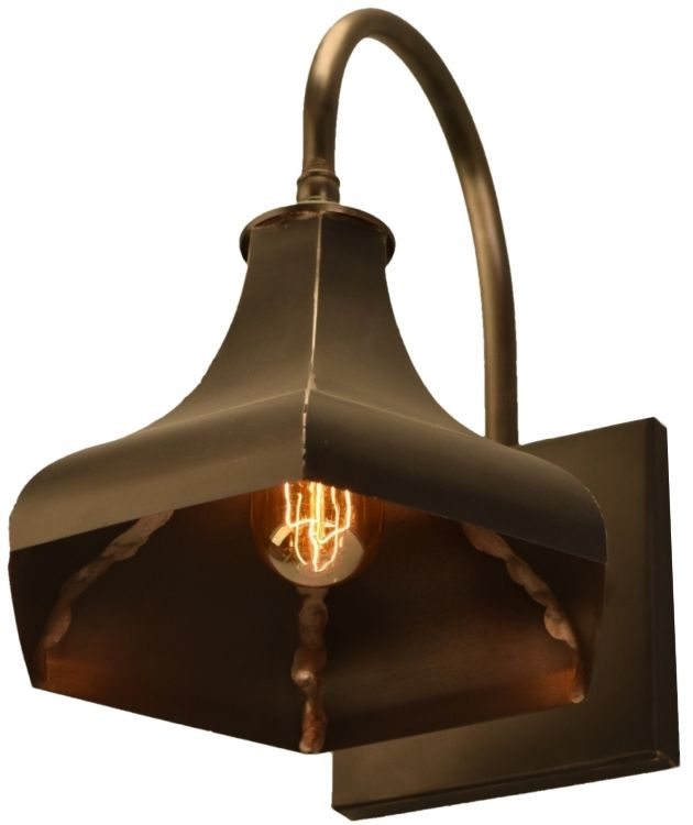 gatsby copper wall mount barn light rustic outdoor barn and