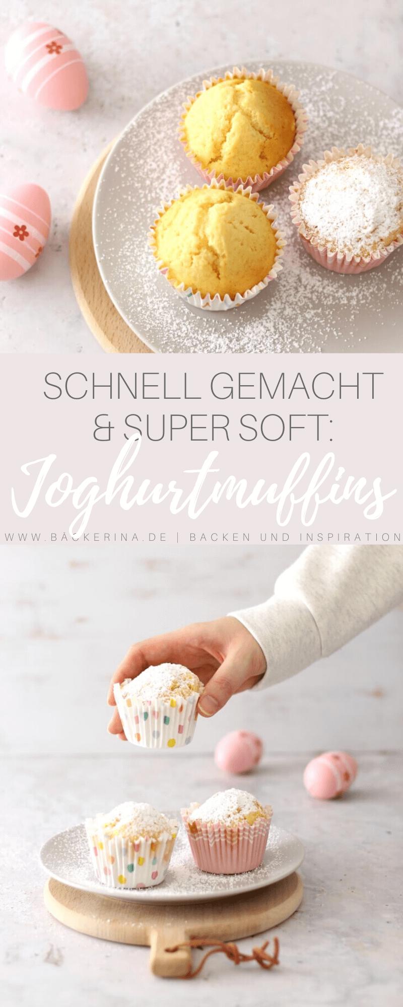 Joghurtmuffins schnell und einfach