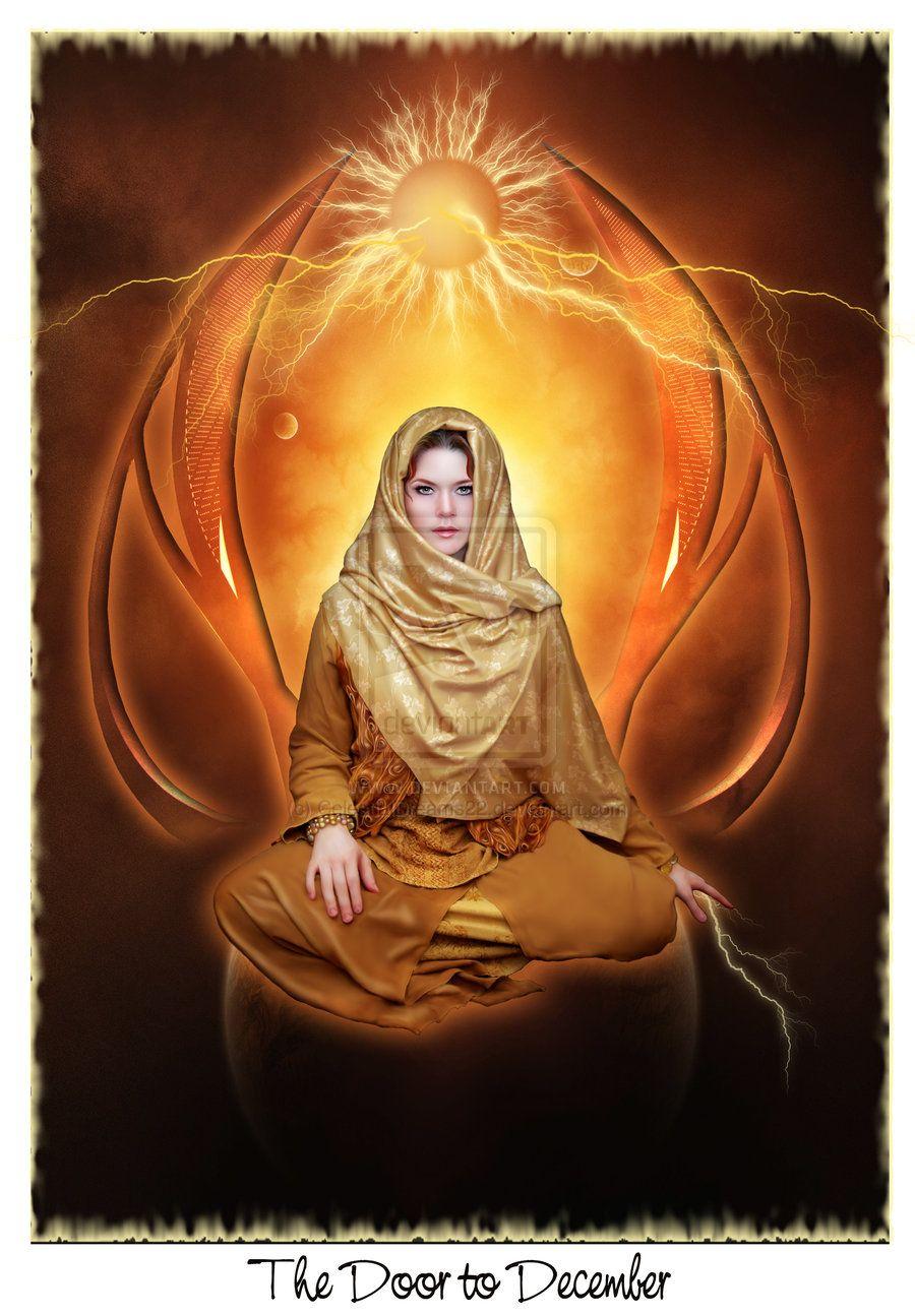 The Door To December By Celestialdreams22 Spiritual Art Art Deviantart